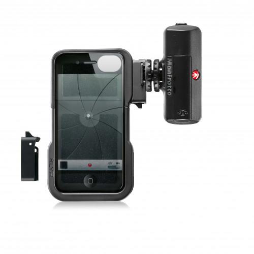 MANFROTTO Skal iPhone 4/4S MKL120KLYP0 ML120 LED-belysn.