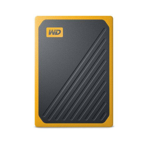 Western Digital WD My Passport GO SSD 500GB Svart/Brandgul