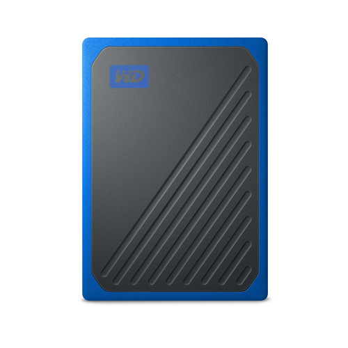 Western Digital WD My Passport GO SSD 500GB Svart/Blå