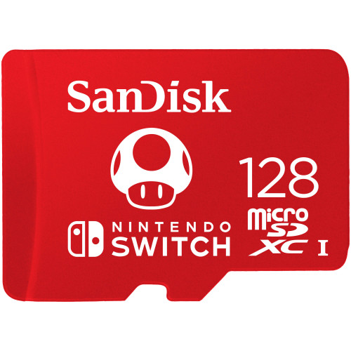 SANDISK Minneskort MicroSDXC för Nintendo Switch 128GB UHS-I,100/90