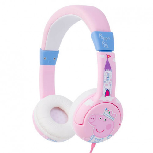 PEPPA PIG Hörlur Junior On-Ear 85dB Prinsessan Peppa