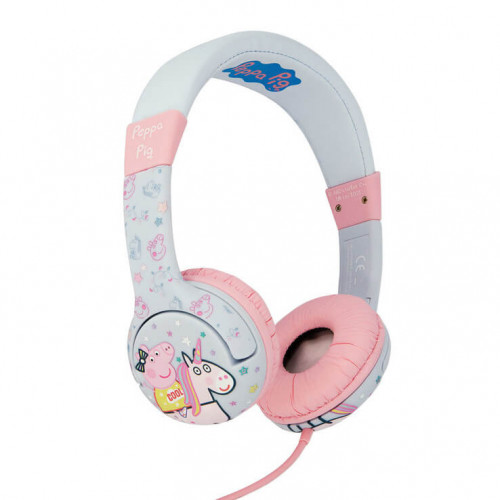 PEPPA PIG Hörlur Junior On-Ear 85dB Unicorn Peppa