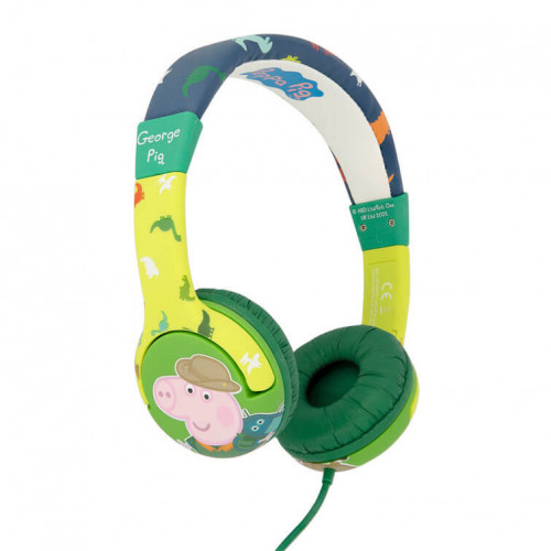 PEPPA PIG Hörlur Junior On-Ear 85dB Dino George