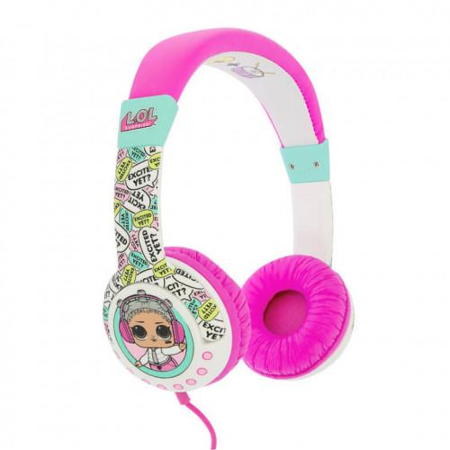 LOL Hörlur Junior On-Ear 85dB Unicorn Peppa