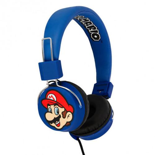 MARIO SUPER MARIO Hörlur Tween On-Ear 100dB Mario & Luigi