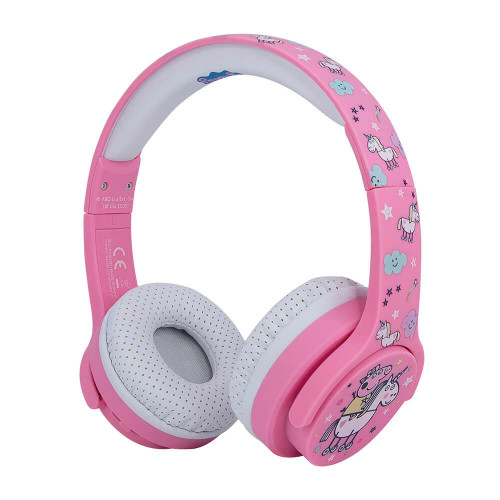 PEPPA PIG Hörlur Junior Bluetooth On-Ear 85dB Trådlös Rosa Unicorn