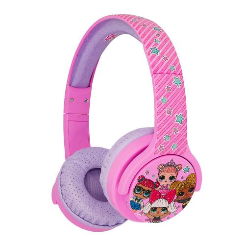 LOL Hörlur Junior Bluetooth On-Ear 85dB Trådlös Rosa Club