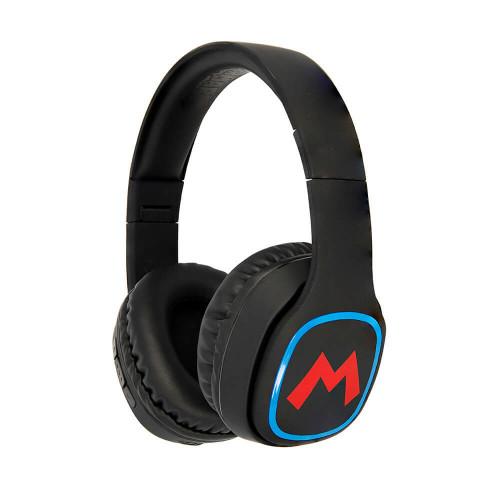 MARIO SUPER MARIO Hörlur Teen Bluetooth Over-Ear 100dB  Trådlös Mario Icon