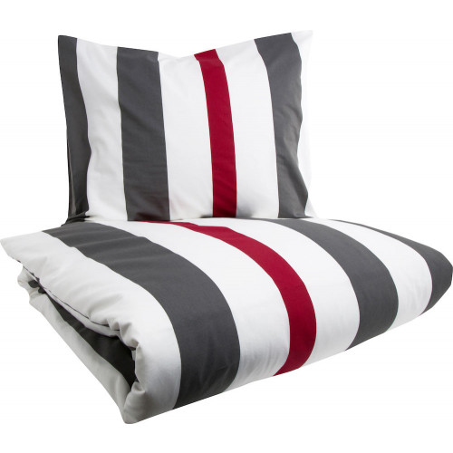 Lord Nelson Bäddset Grey stripe 150x210 cm
