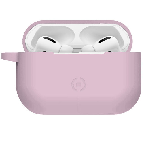 Celly Airpods Pro skyddsfodral Rosa