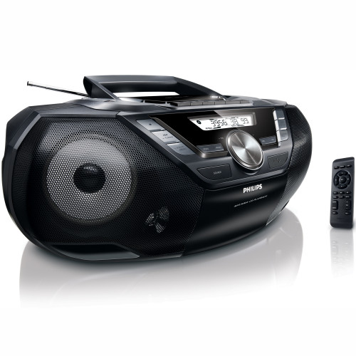Philips Boombox CD/Radio/USB/Kassett
