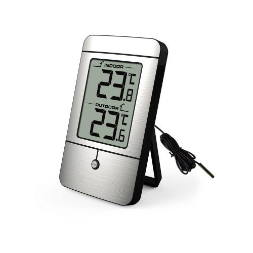 TERMOMETER FABRIKEN Termometer Inne och Ute Digital