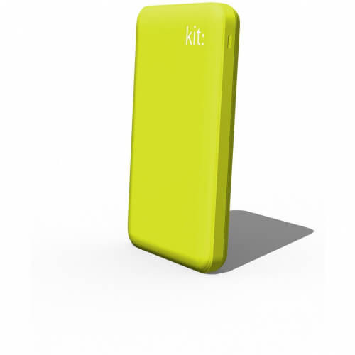 KIT FRESH Powerbank 6000mAh 2,1A 1xUSB indicator Grön