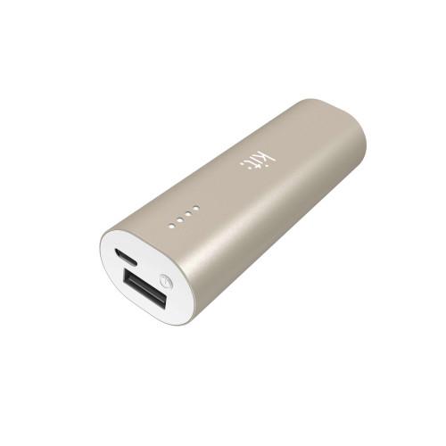 KIT Powerbank 3000 mAh Premium  Guld Aluminium