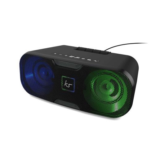 KITSOUND Högtalare SLAM XL Svart RGB-LED 100W