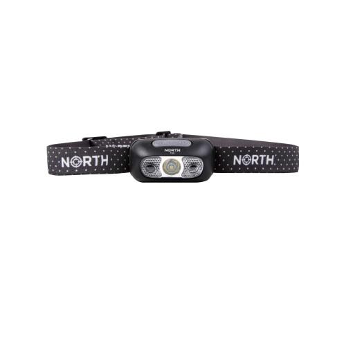 NORTH Pannlampa 120Lumen  Svart ca 65m Sensorkontroll