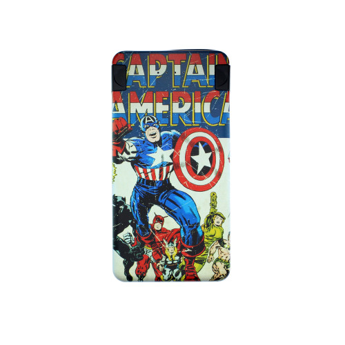 MARWEL MARVEL Powerbank 6000mAh Captain America