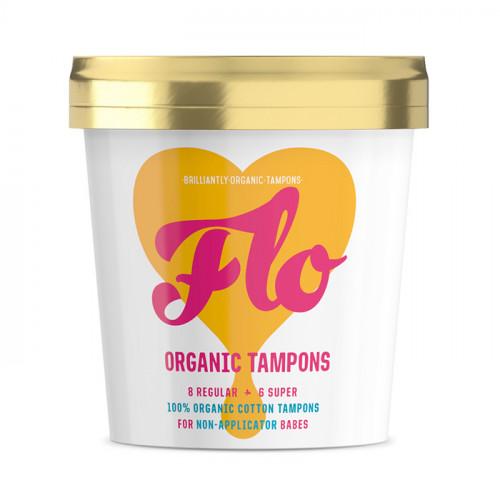 Here We Flo Tampong Regular & Super 16 st