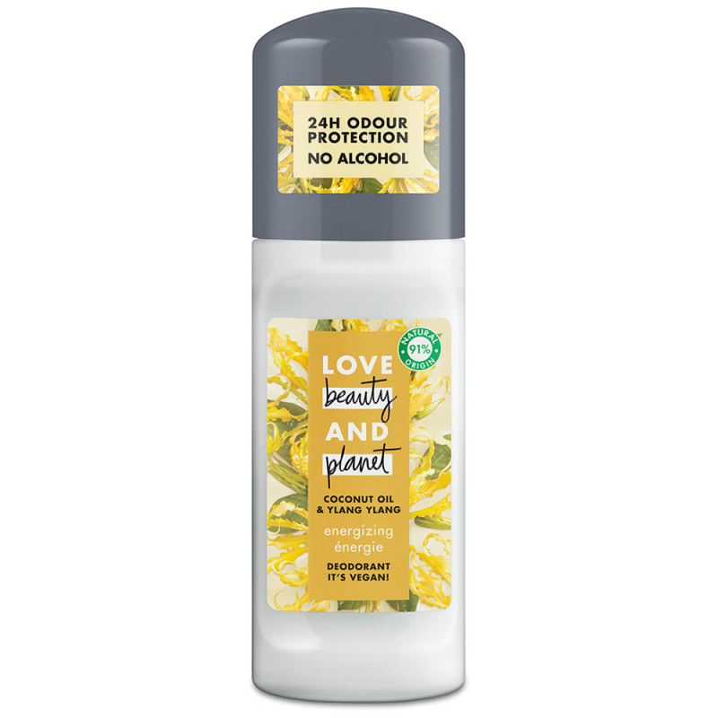 Love Beauty & Planet Deodorant Roll-on Energizing