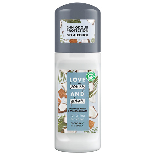 Love Beauty & Planet Deodorant Roll-on Refreshing