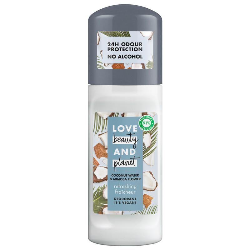 Love Beauty & Planet Deodorant Roll-on Refreshing