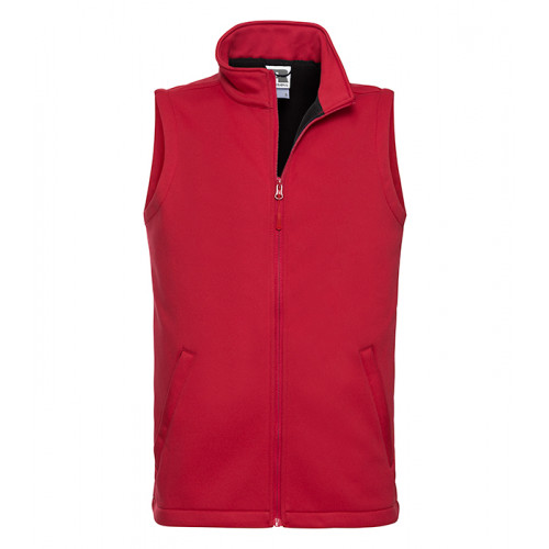 Russel Men´s Smart Softshell Gilet Classic Red