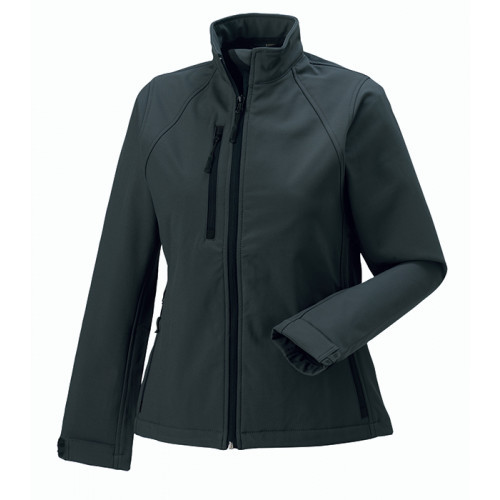 Russell Ladies Soft Shell Jacket Titanium