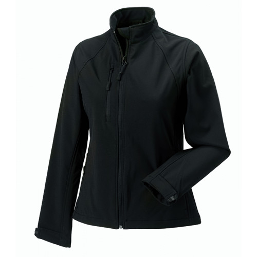 Russell Ladies Soft Shell Jacket Black
