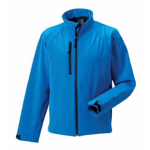 Russell Soft Shell Jacket Azure Blue