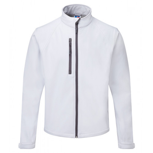 Russell Soft Shell Jacket White