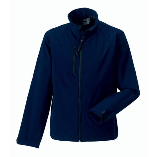Russell Soft Shell Jacket French Navy