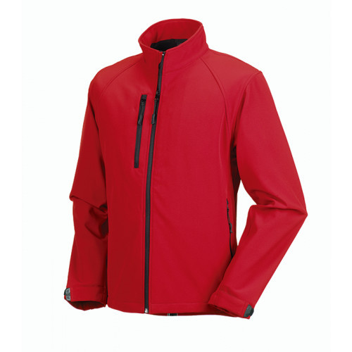 Russell Soft Shell Jacket Classic Red