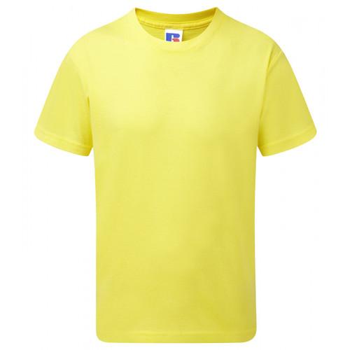 Russell Children´s Slim Tee Yellow