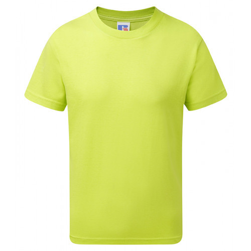 Russell Children´s Slim Tee Lime