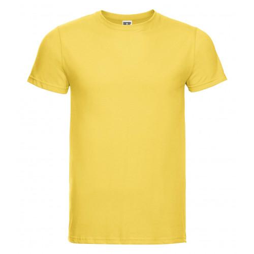 Russell Men´s Slim Tee Yellow