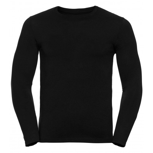 Russell Men´s Long Sleeve HD Tee Black