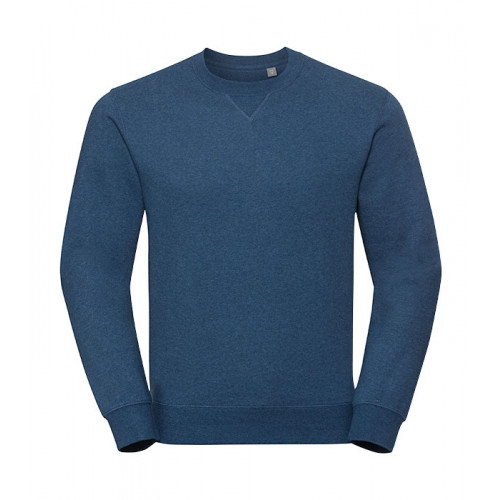 Russell Authentic Melange Sweat Ocean Melange