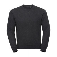 Russell Authentic Melange Sweat Charcoal Melange