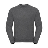 Russell Authentic Melange Sweat Carbon Melange