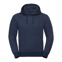 Russell Men´s Authentic Melange Hooded Sweat Indigo Melange