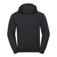 Russell Men´s Authentic Melange Hooded Sweat Charcoal Melange