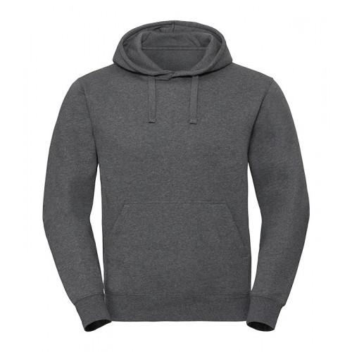 Russell Men´s Authentic Melange Hooded Sweat Carbon Melange