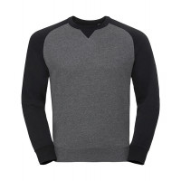 Russell Authentic Baseball Sweat Carbon Melange/Black