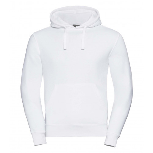 Russell Men´s Authentic Hooded Sweat White