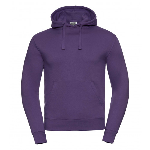 Russell Men´s Authentic Hooded Sweat Purple