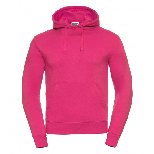 Russell Men´s Authentic Hooded Sweat Fuchsia