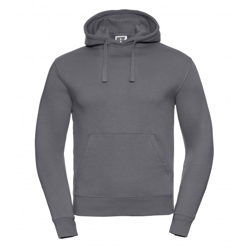 Russell Men´s Authentic Hooded Sweat Convoy Grey