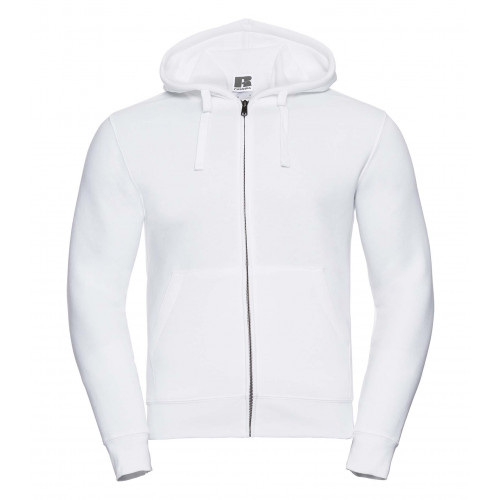 Russell Men´s Authentic Zipped Hood White