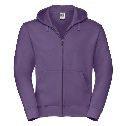 Russell Men´s Authentic Zipped Hood Purple