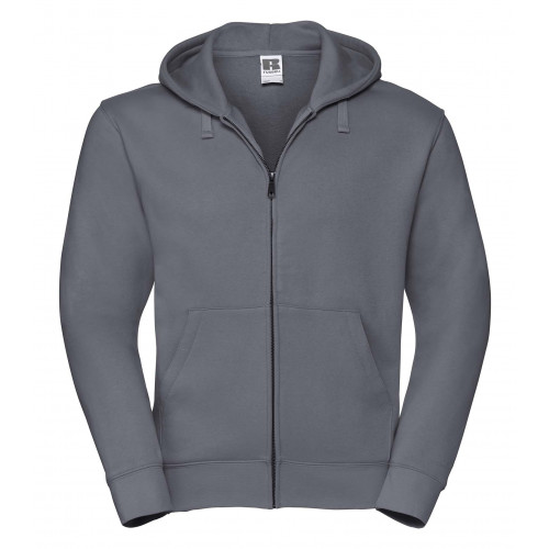 Russell Men´s Authentic Zipped Hood Convoy Grey